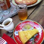 Orange – Rosemary Cake w. Orange Syrup